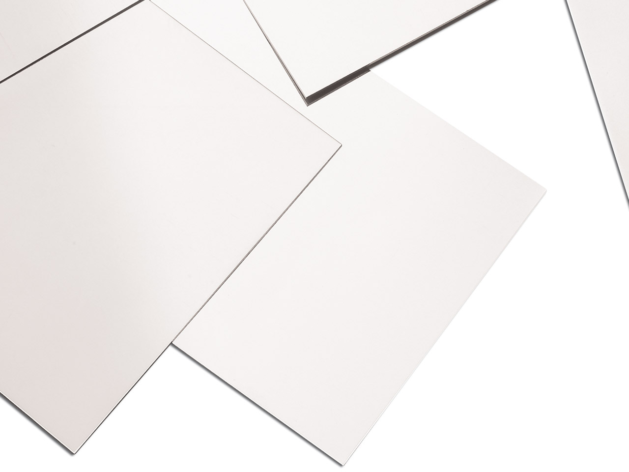 18ct Medium White White Gold Sheet 0.40mm