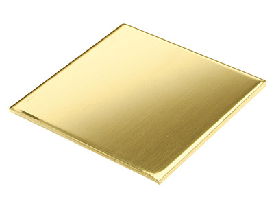 22ct Yellow DS Sheet 0.50mm, 100  Recycled Gold