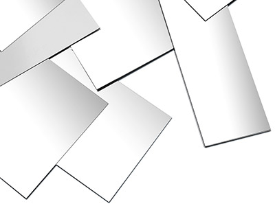 Sterling Silver Sheet 0.35mm Fully Annealed