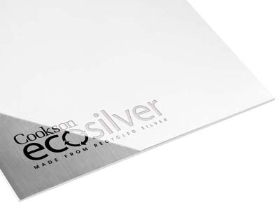 Ecosilver Sheet 0.40mm, 100       Recycled Sterling Silver