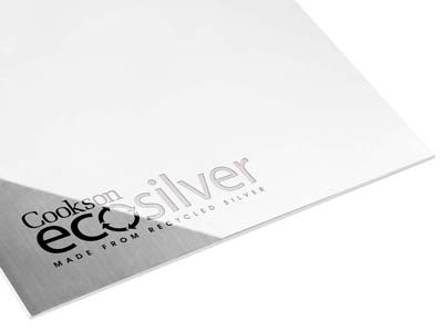 Ecosilver Sheet 0.90mm, 100       Recycled Sterling Silver