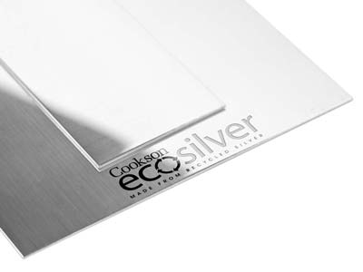 Ecosilver Sheet 1.30mm, 100       Recycled Sterling Silver