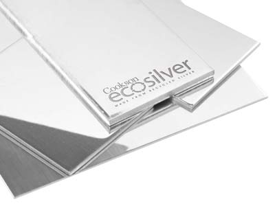 Ecosilver Sheet 2.50mm, 100       Recycled Sterling Silver
