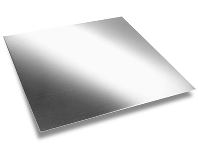 Britannia Silver Sheet 0.50mm Fully Annealed
