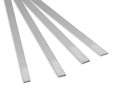 Hard Silver Solder Strip 6.0mm X 0.60mm 600mm Lengths Weight Per Strip 22g