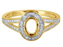 9ct-Yellow-Gold-Semi-Set-----------Di...