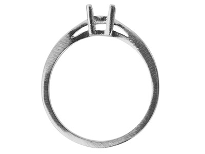 9ct-White-Square-Double-Bezel-Ring-Mo...