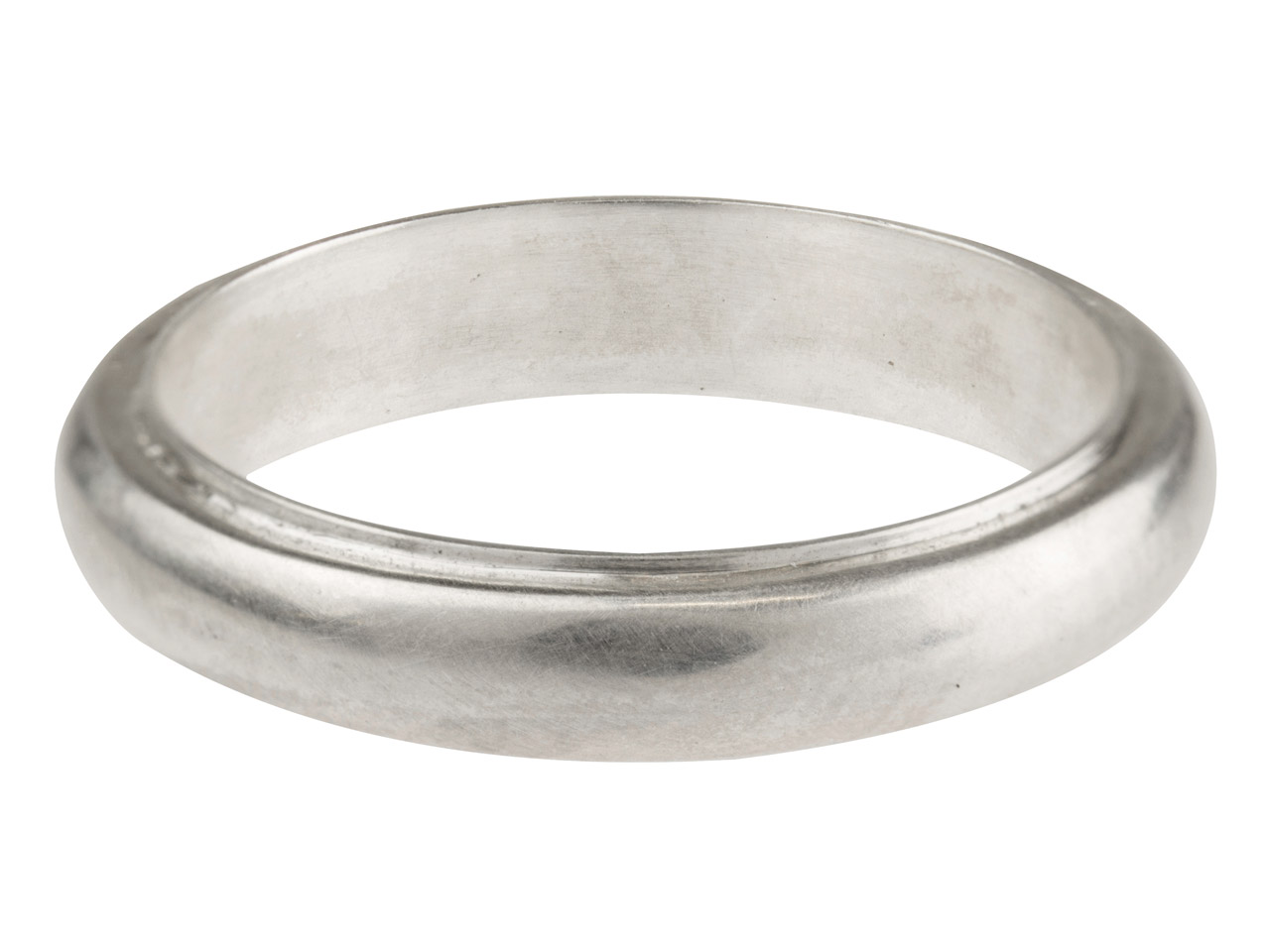Sterling Silver Band Ring 4.2mm    Wide Hallmarked Size N