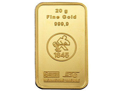 Fine-Gold-Bar-20gms,-Stamped,------He...