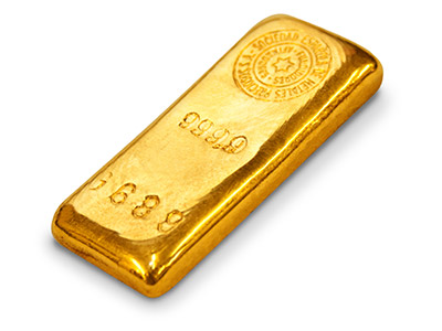 Fine Gold Bar 100gms Cast