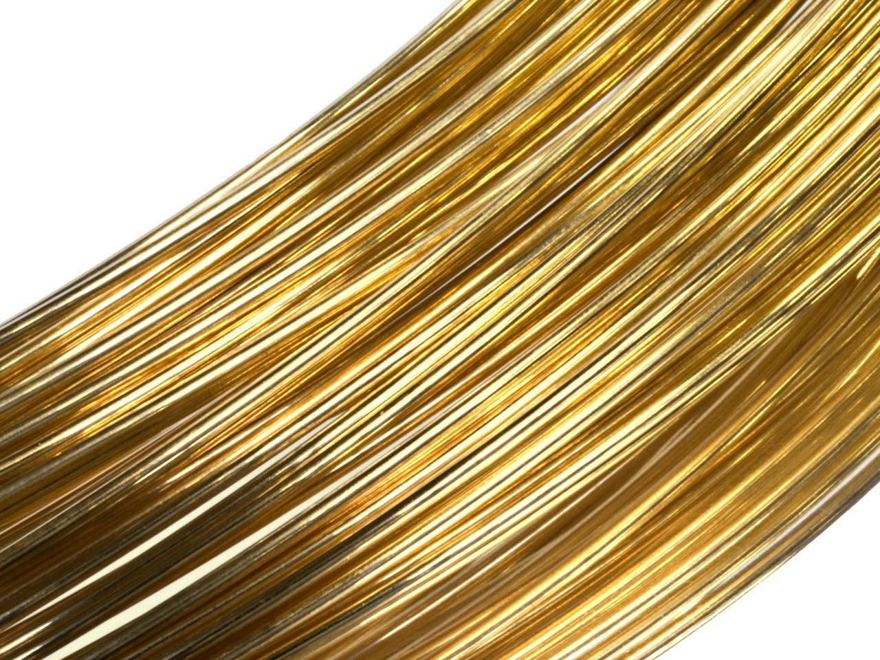 18ct Yellow HB Fairtrade Round Wire 1.50mm