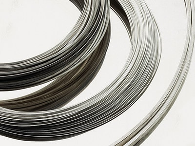 Sterling Silver Round Wire 2.50mm  Fully Annealed