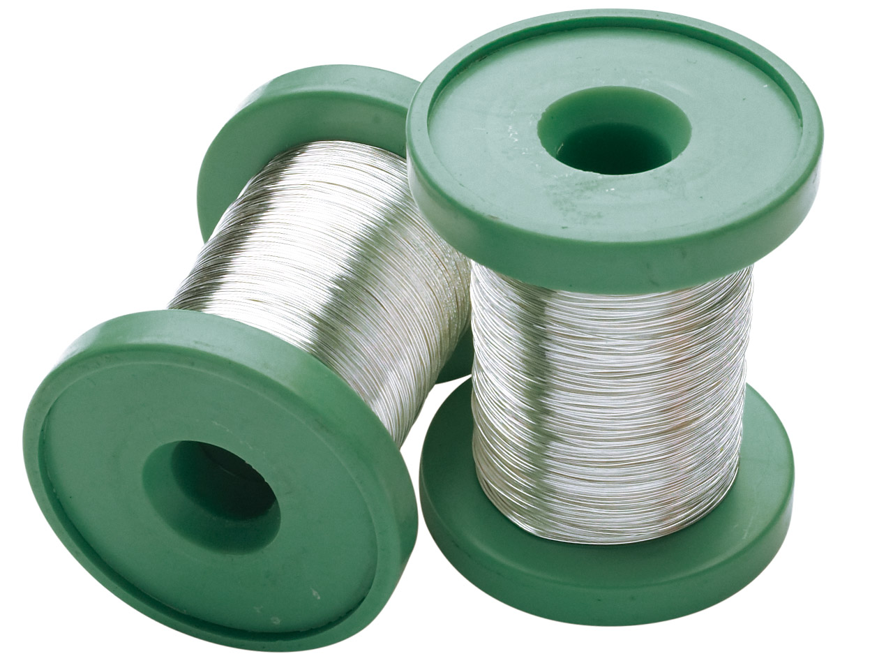 Sterling Silver Round Wire 0.60mm, Half Hard, 30gm Reels