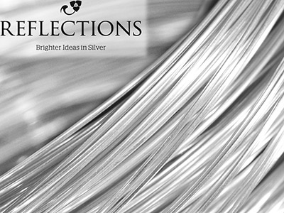 Reflections Silver 0.8mm Round Wire