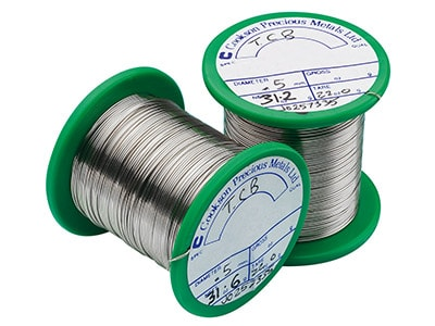 Extra Easy Silver Solder Wire      1.00mm Fully Annealed, 30gm Reels
