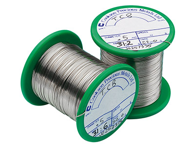 Easy Silver Solder Wire 0.50mm     Fully Annealed, 30gm Reels