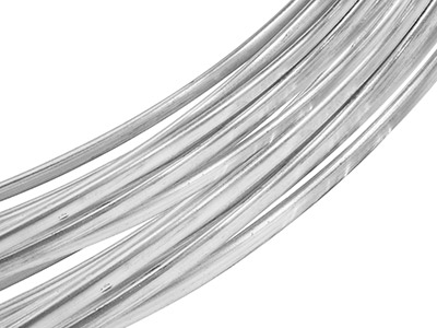 Sterling Silver Oval Wire 8.0mm X  4.0mm