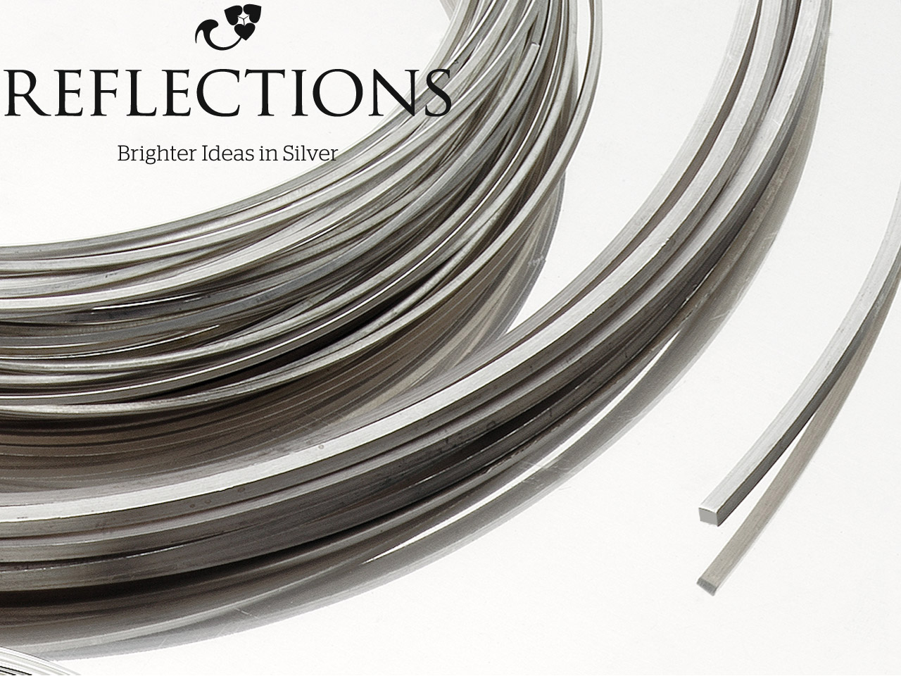 Reflections Silver Square Wire     3.00mm Fully Annealed