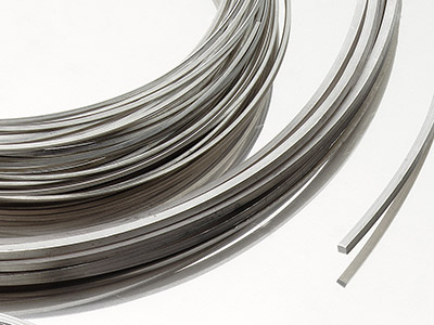 Platinum Square Wire - Cut to your Requirements