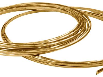 18ct-Yellow-HB-D-Shape-Wire-5.10mm-X-...