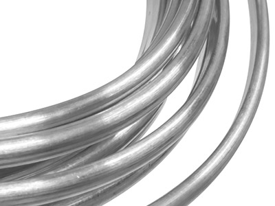 Gw Palladium D Shape Wire 3.0mm X  2.0mm