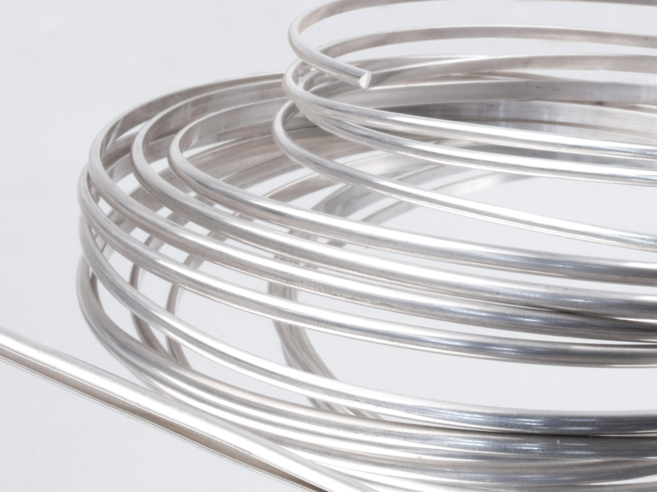 Sterling Silver D Wire 5.10mm X    1.25mm