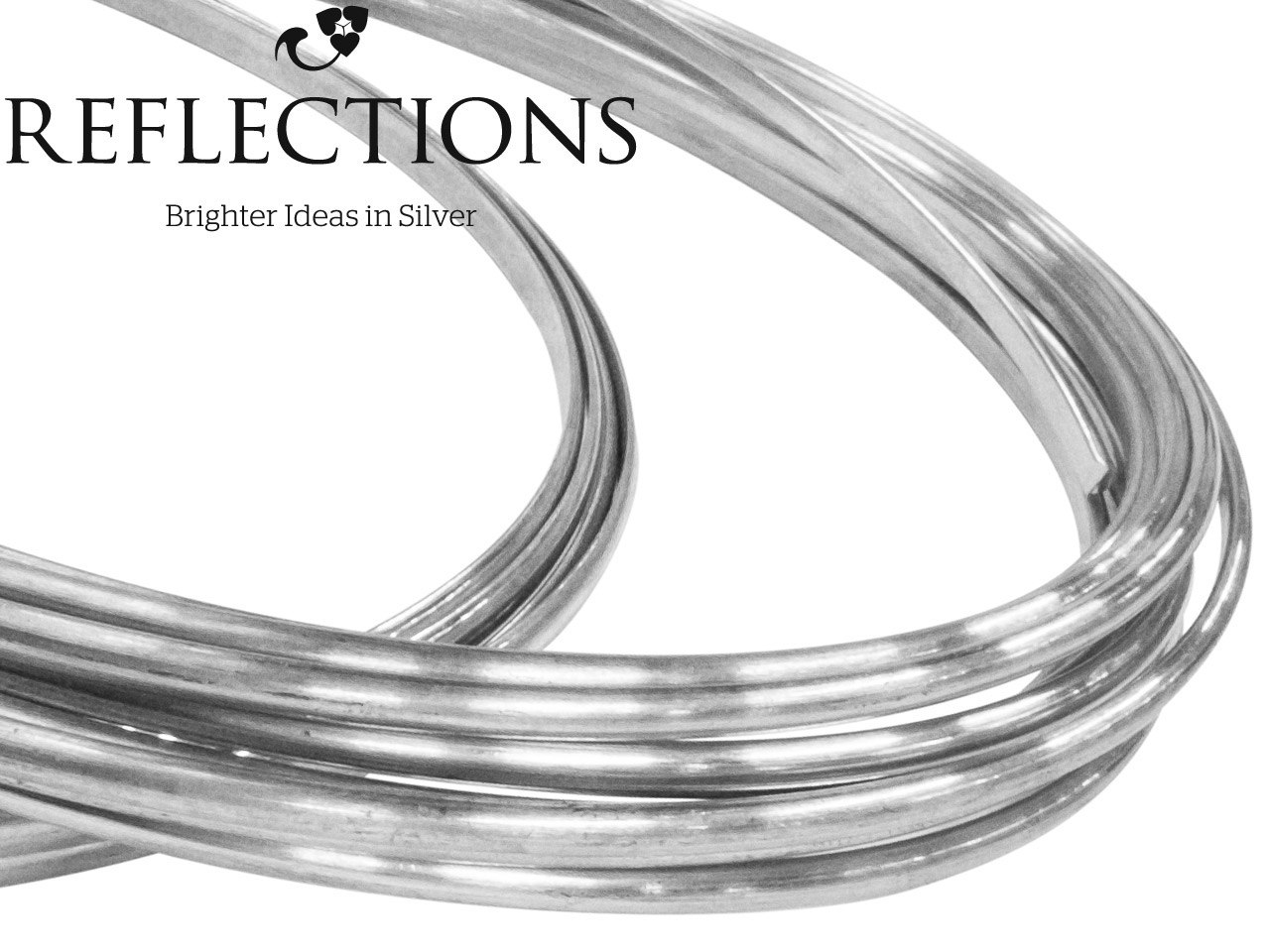 Reflections Silver D Shape 11.0mm  X3.0mm