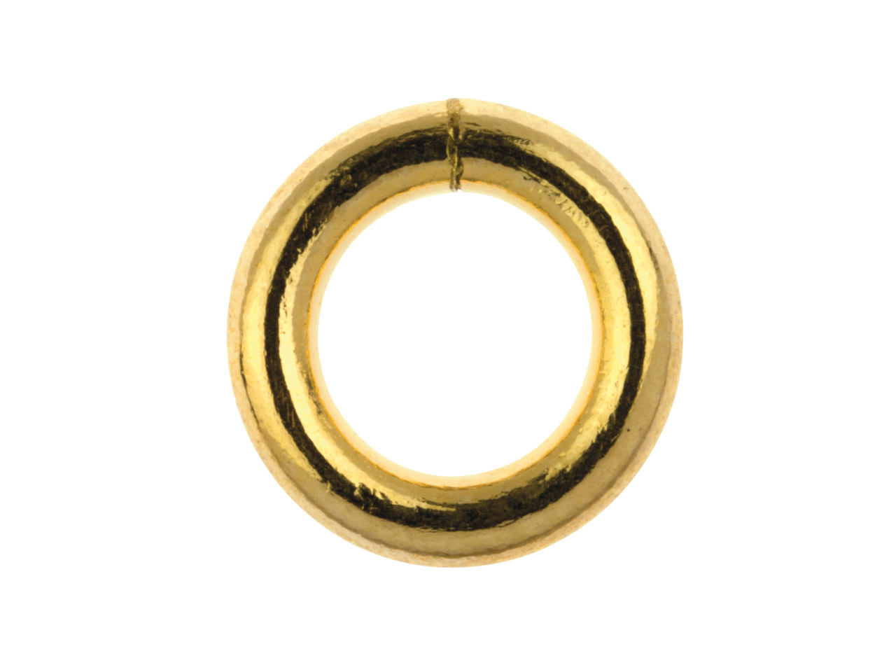 14ct Gold Filled Closed Jump Ring  5mm Pack of 5