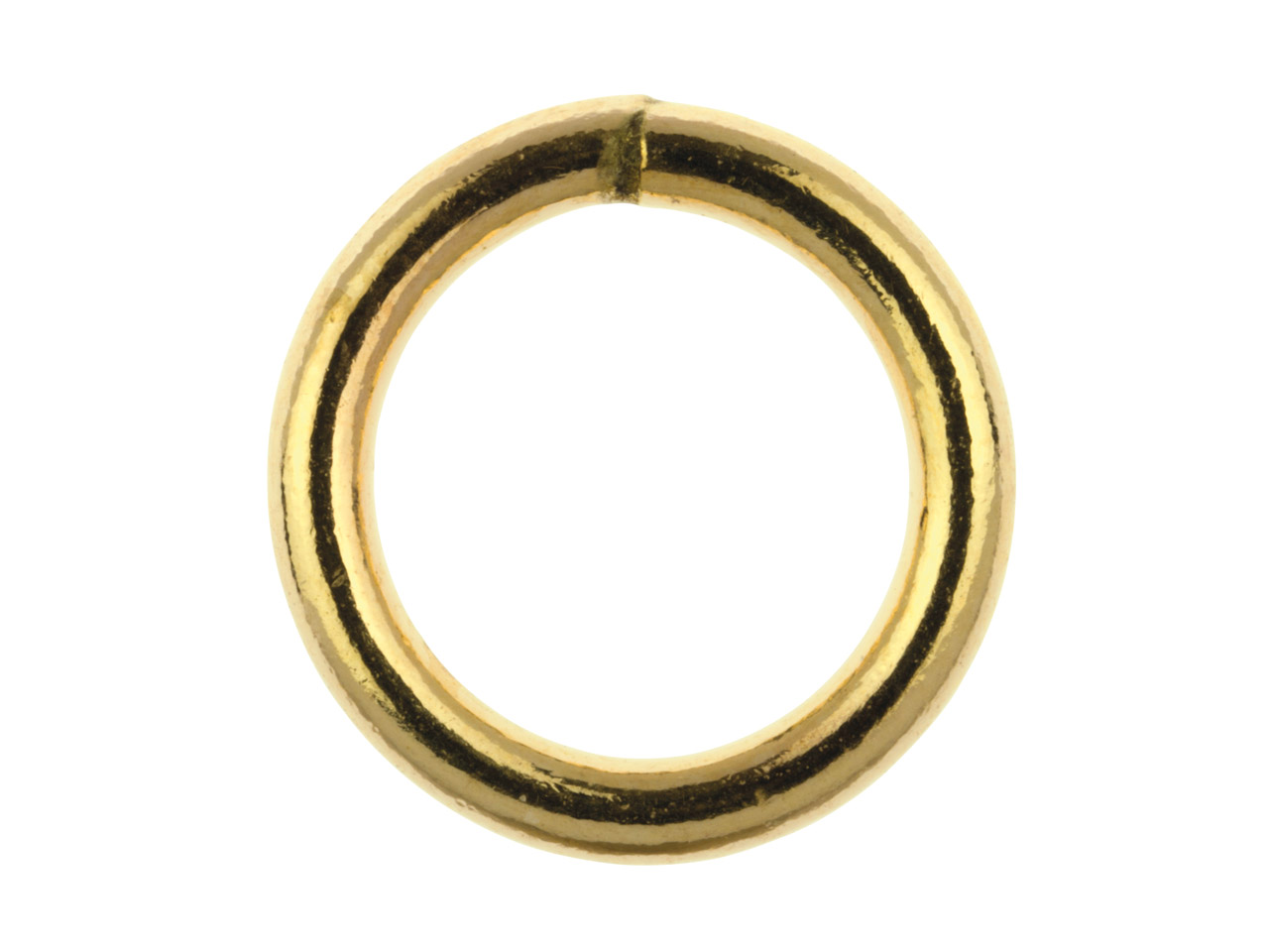 14ct Gold Filled Closed Jump Ring  7mm Pack of 5