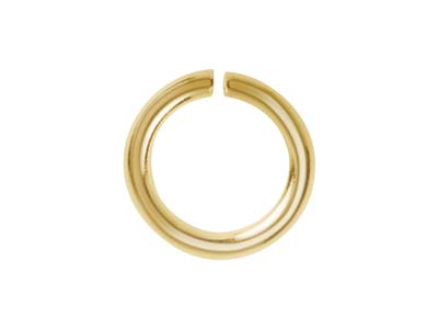 Bolt Ring Clasps 6mm Gold Plated Trigger Fasteners Pack of 10 H25//3