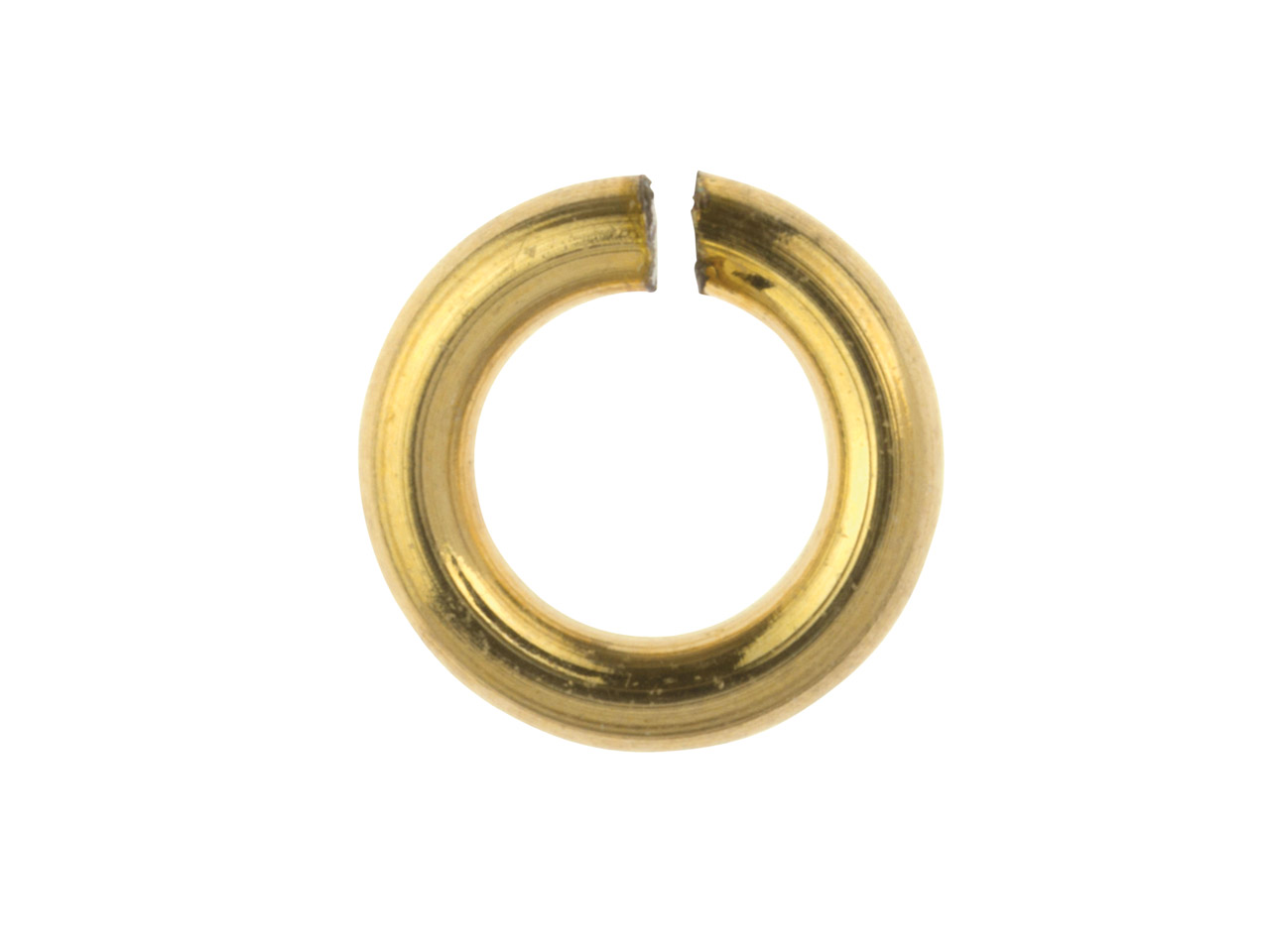 14ct Gold Filled Open Jump Ring 3mm Pack of 20