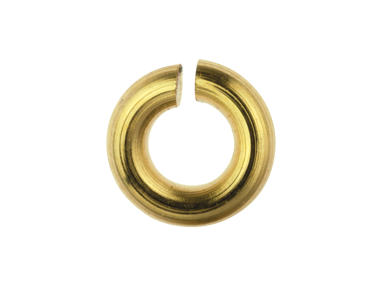 14ct Gold Filled Open Jump Ring 4mm Pack of 10