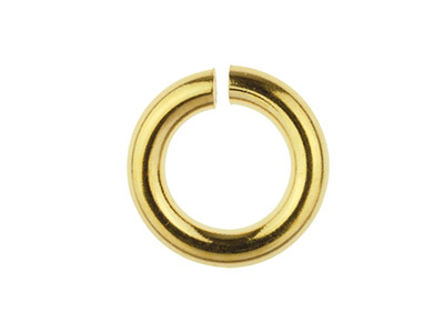Gold Filled Open Jump Ring 5mm     Pack of 10
