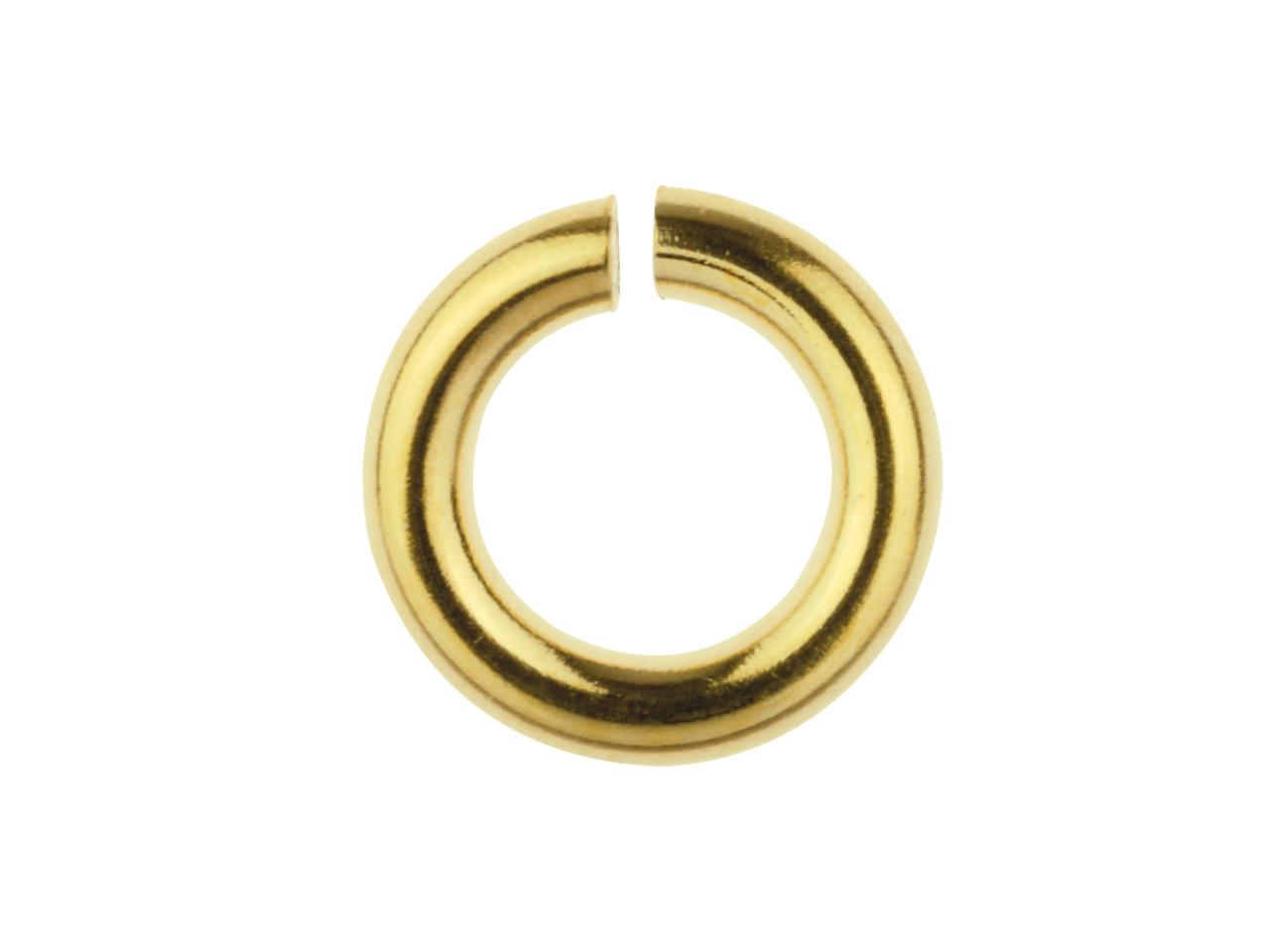 14ct Gold Filled Open Jump Ring 5mm Pack of 10