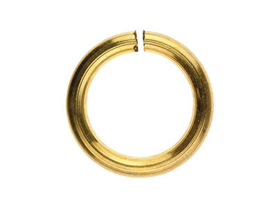 Gold Filled Open Jump Ring 7mm     Pack of 10