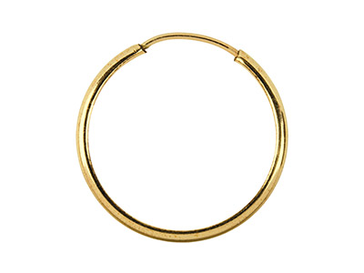 14ct Gold Filled Hoop Earring 24mm