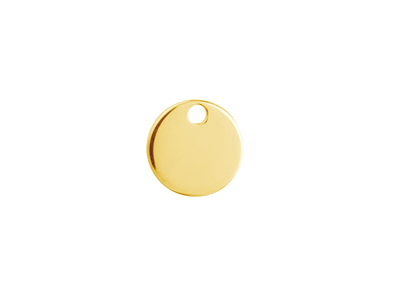Gold Filled Round Disc 10mm        Stamping Blank