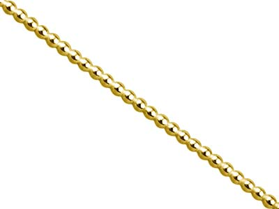 Gold Filled Beaded Wire 1.5mm