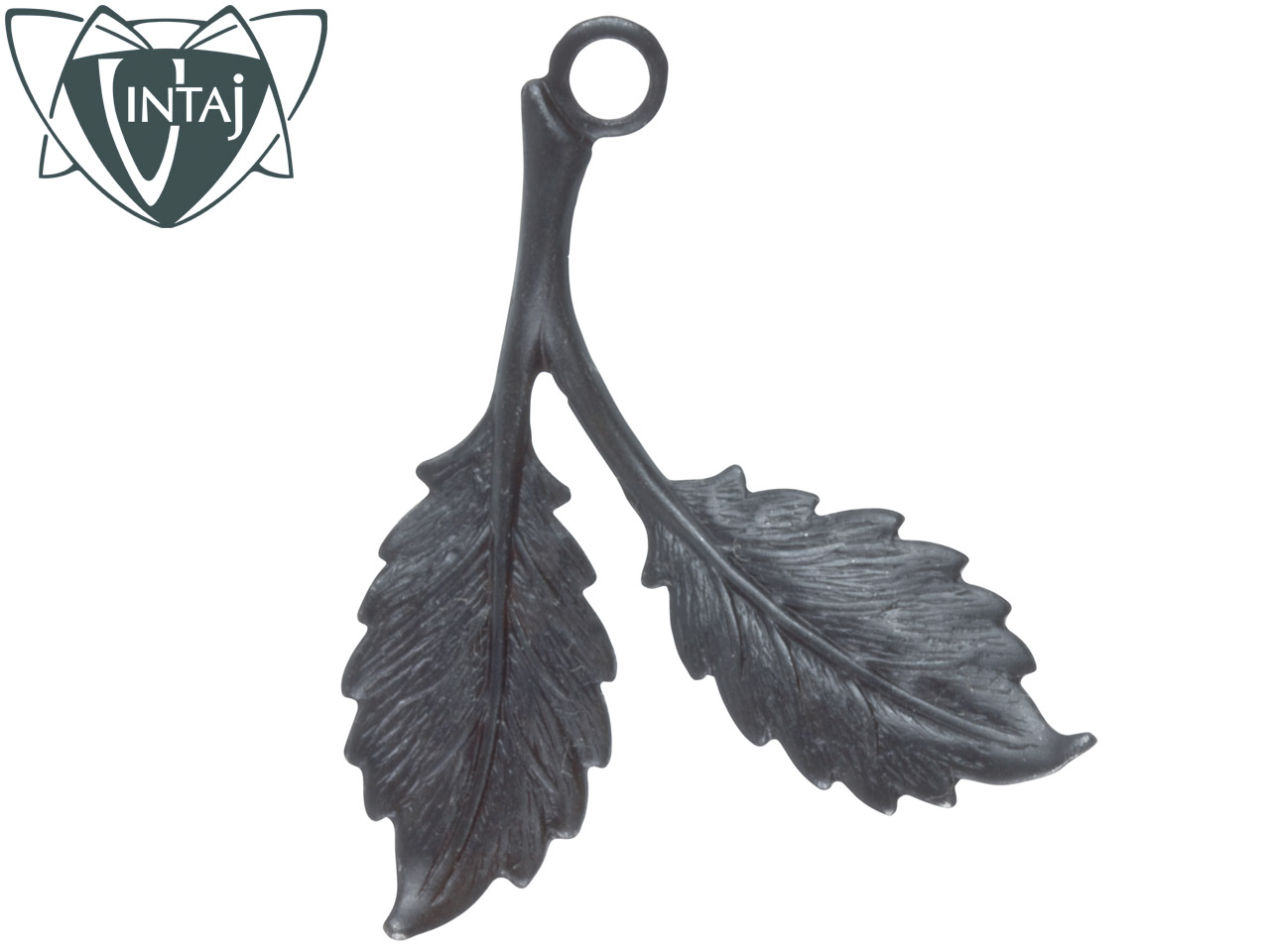 Vintaj Arte Metal Beech Leaves Pack Of 2