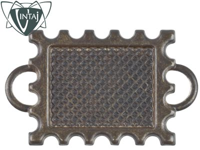 Vintaj Brass 22mm Memoir Stamp Bezel