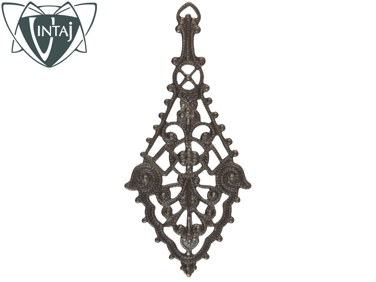 Vintaj Brass Etruscan Drop Filigree