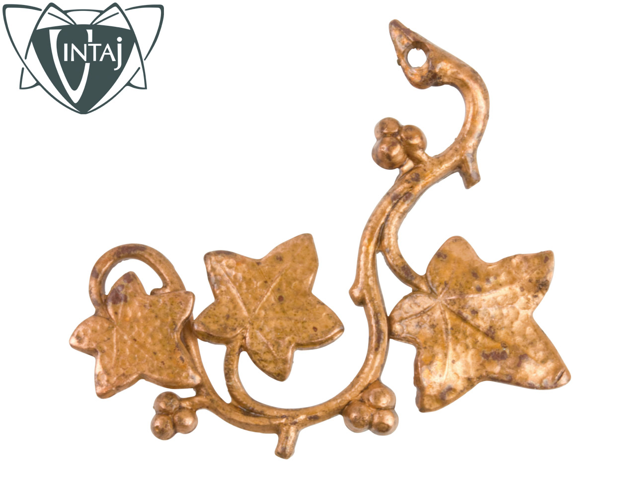 Vintaj Artisan Copper Craftsman Vine 41x25mm Pack of 1