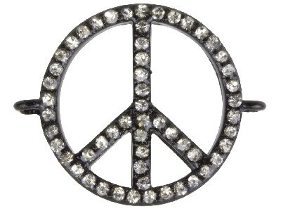 Black-Plated-Base-Metal-Peace------Co...