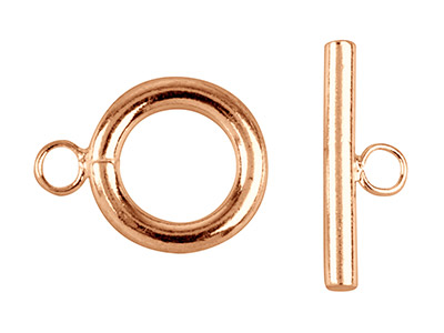 Rose-Gold-Plated-Ring-And-Toggle---Cl...