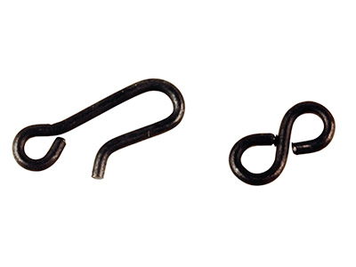 Vintaj Arte Metal Hook And Eye     Clasps Pack of 2