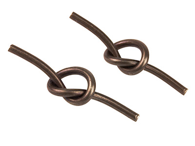 Vintaj Brass Love Knot Pack of 2   Creative Toggle Bars 32mm X 8mm