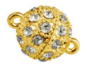 Gold-Plated-Crystal-Magnet-Clasp---10mm