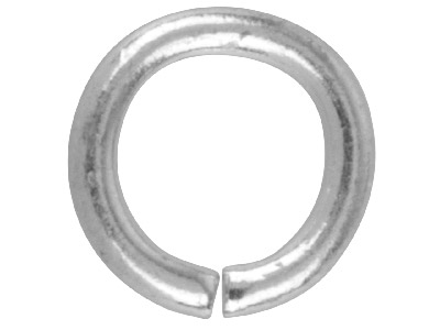 Silver Plated Jump Ring Round 7.5mm Pack of 100,