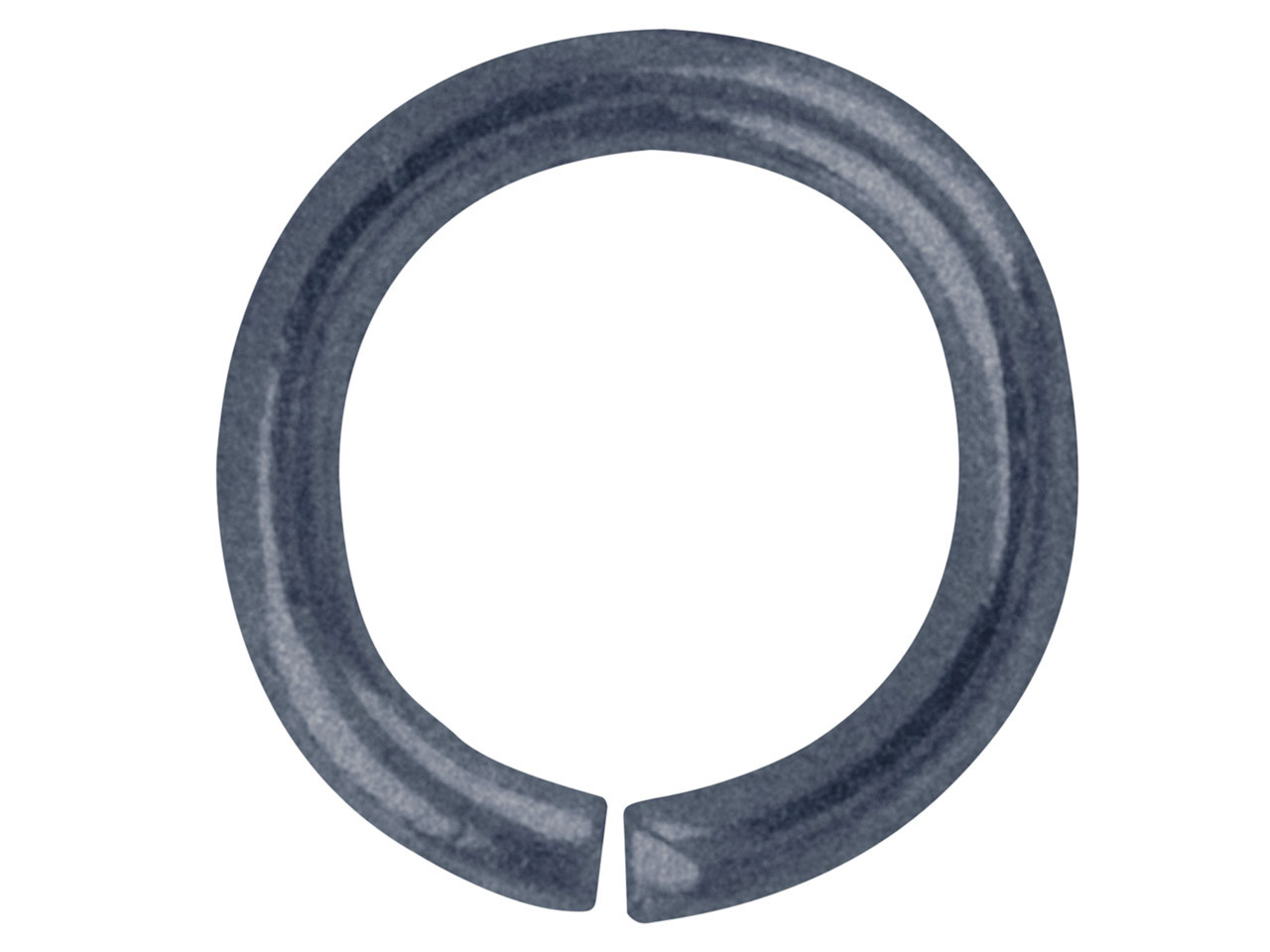 Antique Black Jump Ring Round 8.8mm Pack of 100,