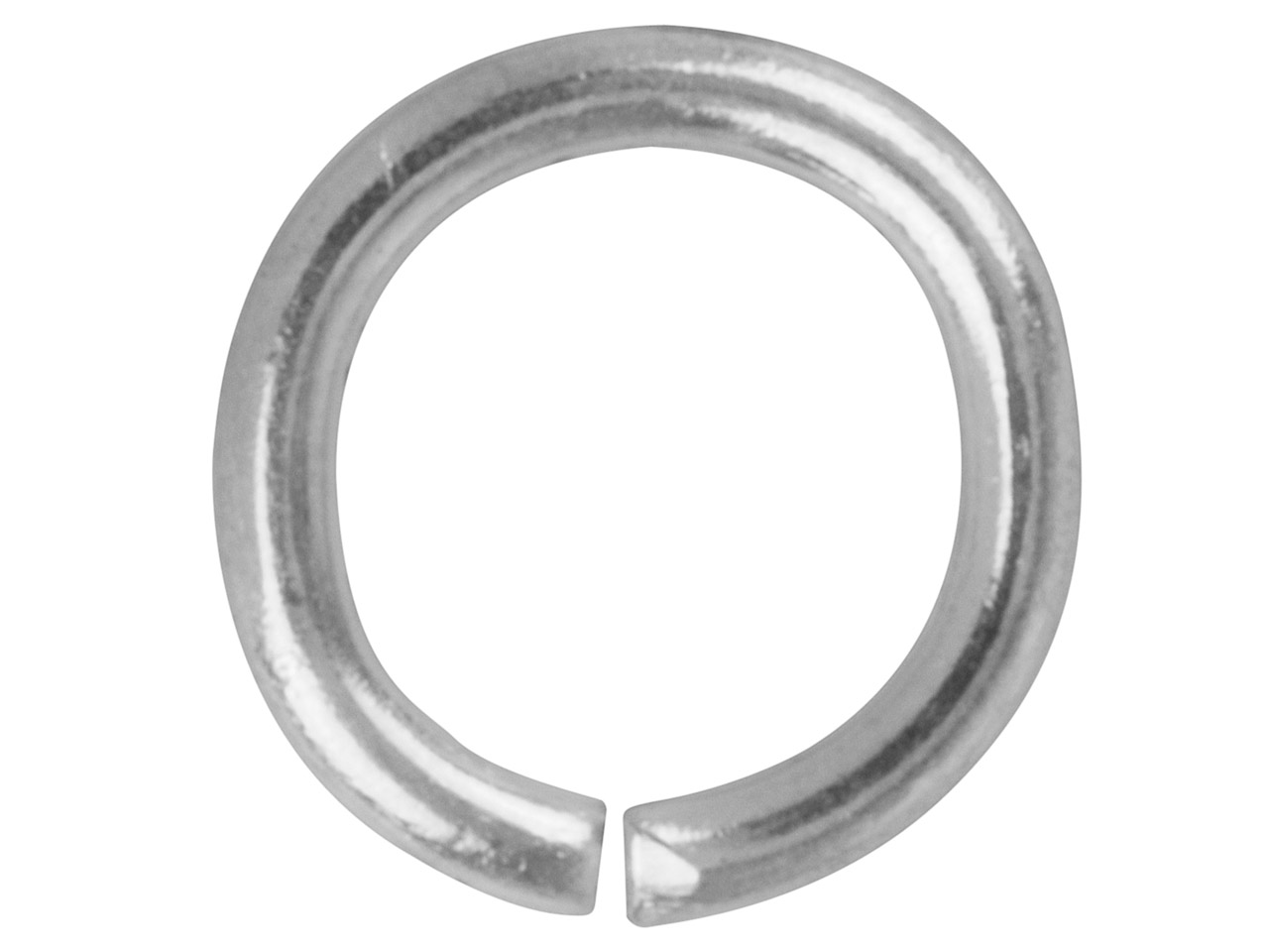 Silver Plated Jump Ring Round 8.8mm Pack of 100,
